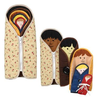 Nesting Multicultural Busy Dolls