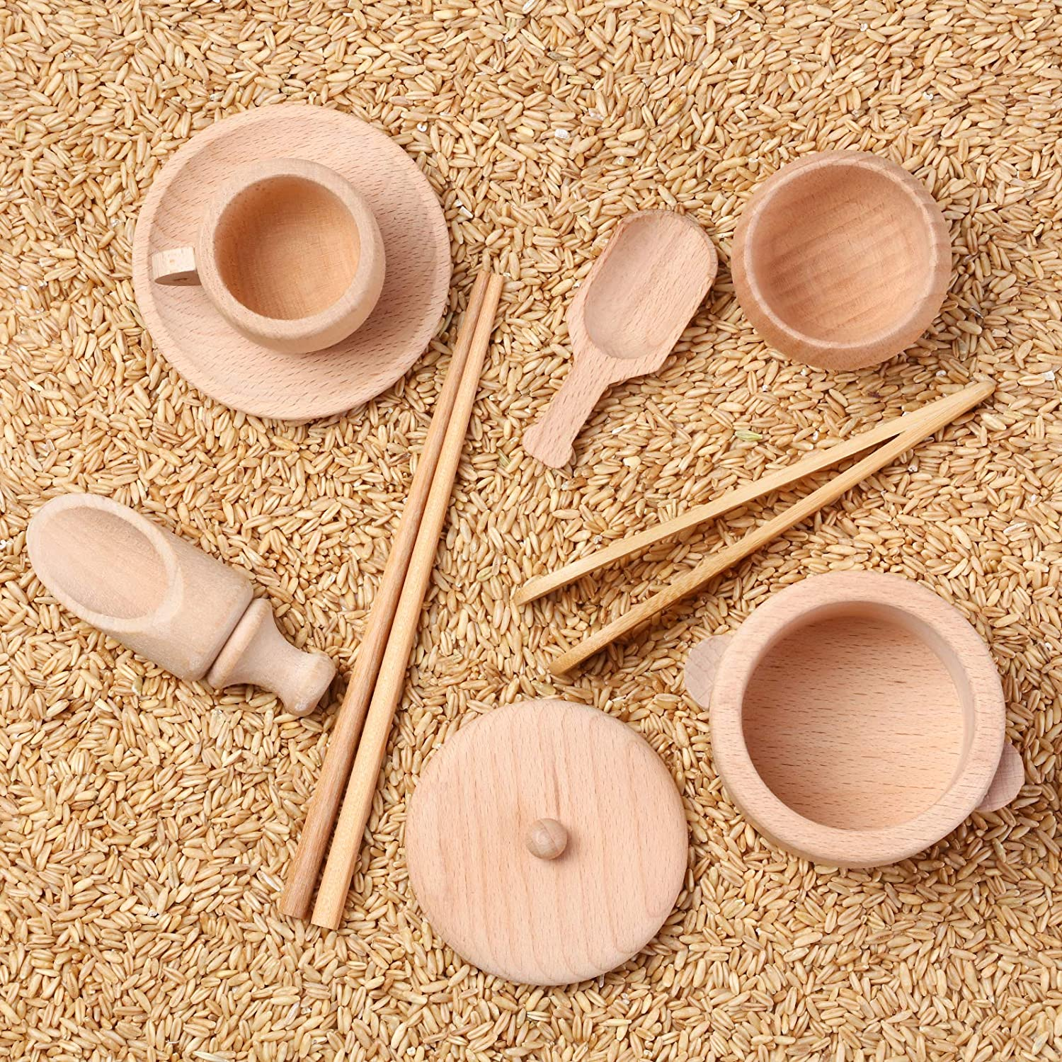 Wood Montessori Set