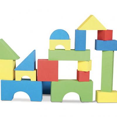 Colored Foam Blocks